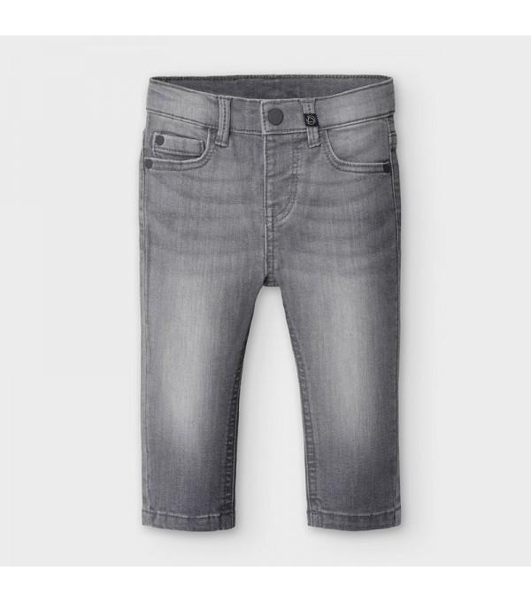 Pantaloni lungi din denim slim fit bebe baiat 0510 MY-BG09V