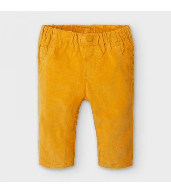 Pantaloni galbeni raiati baiat MAYORAL 591 MY-PL15p