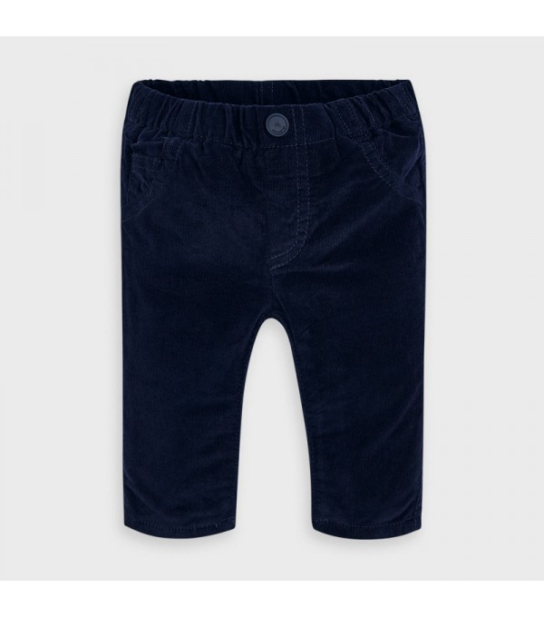 Pantaloni bleumarin raiati baiat MAYORAL 591 MY-PL15p