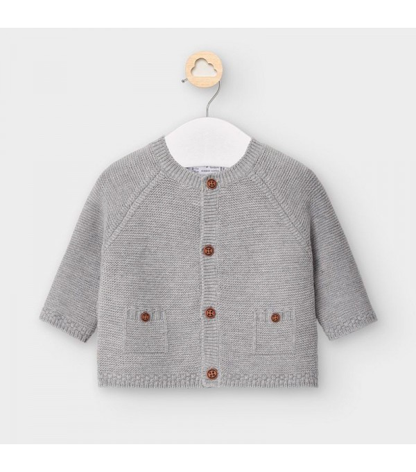 Cardigan tricotat nou-nascut baiat MY-G02V