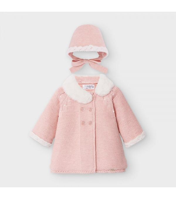 Palton roz fata Mayoral MY-G08V