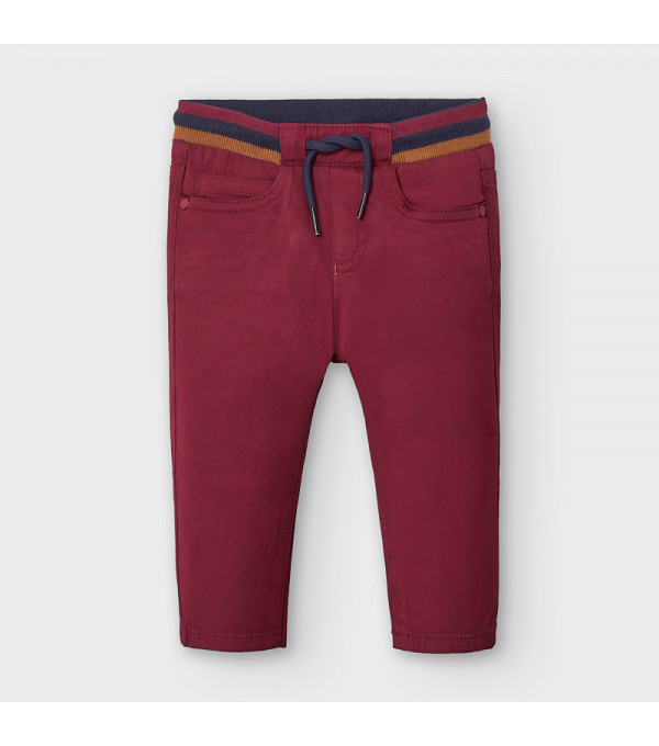 Pantaloni bordo lungi chino bebe baiat 02578 MY-PL122Y