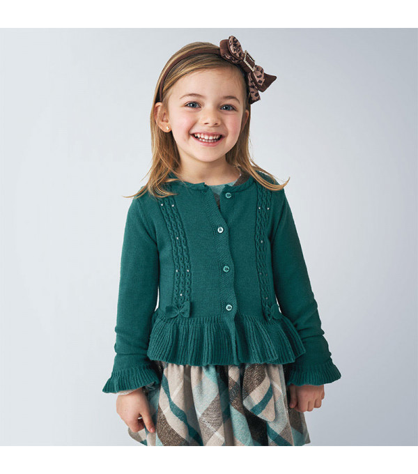 Bluza verde cu nasturi Mayoral 4350 MY-BL102Y