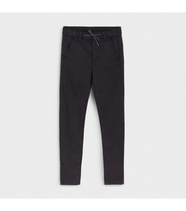 Pantaloni chino slim structura dungi baiat 7526 MY-PL126Y