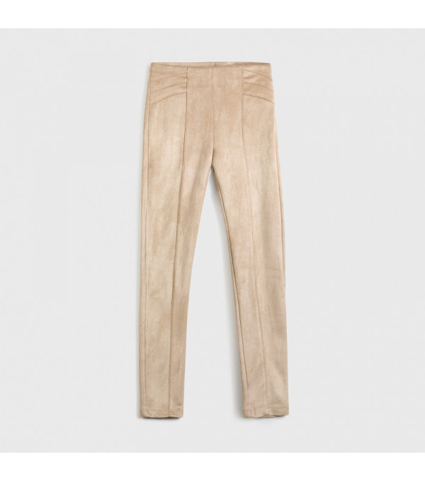 Pantaloni lungi fata crem 7535 MAYORAL MY-PL128Y