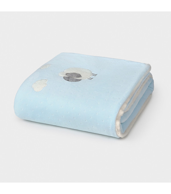 Paturica bleu matlasata cu blanita MAYORAL 9778 MY-PAT02V