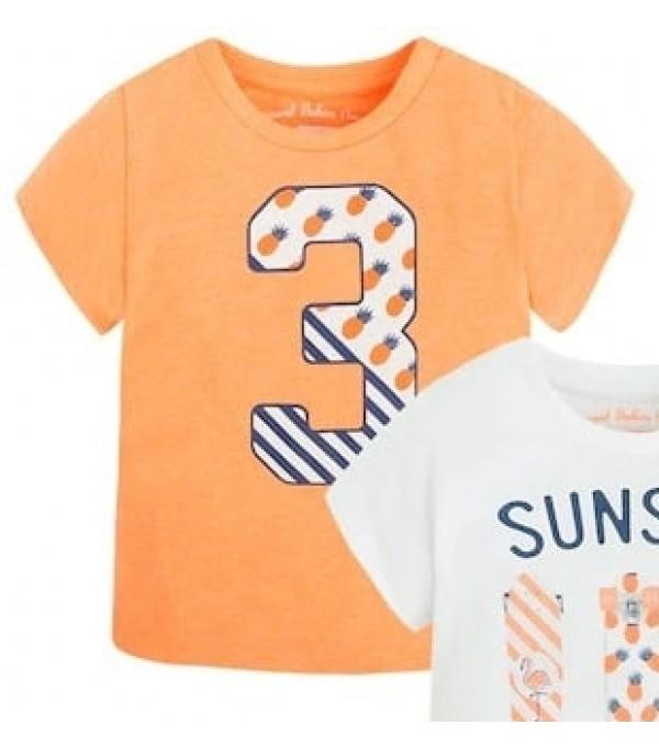 Tricou portocaliu Mayoral My-bl209a