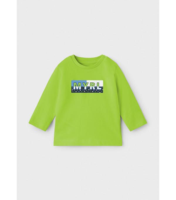 Tricou ECOFRIENDS maneca lunga basic bebe baiat 108 MY-BL01Y