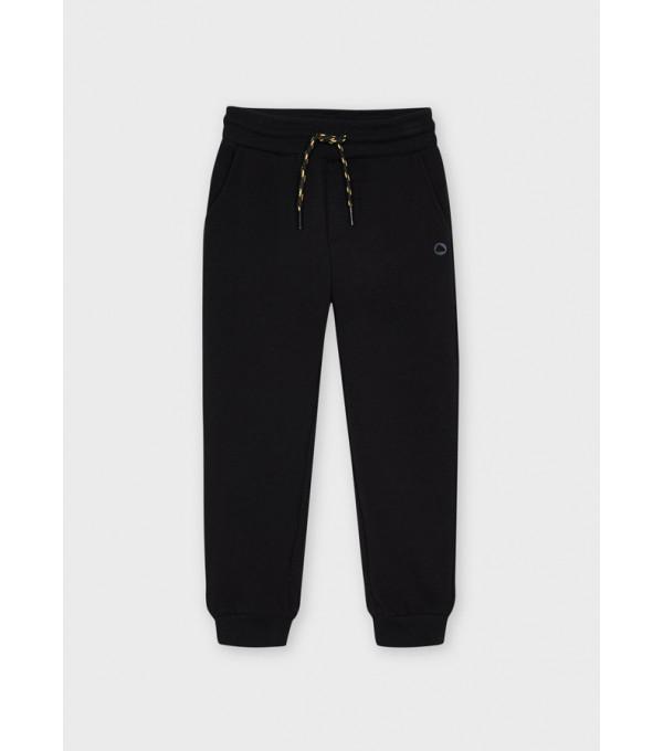 Pantaloni plus basic cardati elastic glezna baiat 725 MY-PL06Y