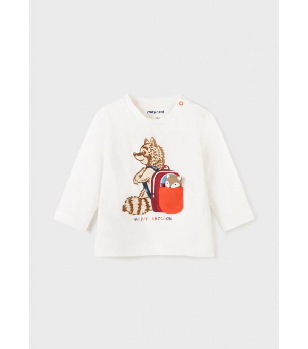 Tricou PLAY WITH raton maneca lunga bebe baiat 2071MY-BL61Y