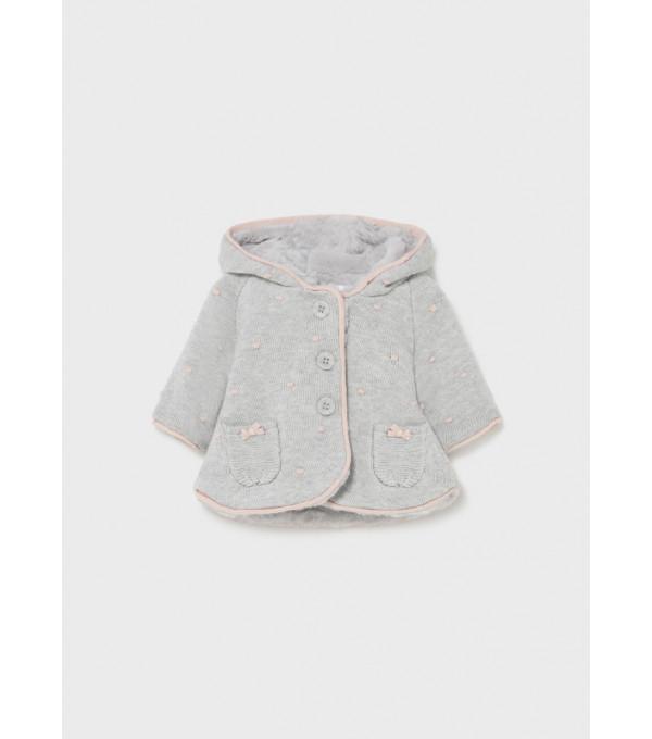 Jacheta tricot nou-nascut fata 2364 MY-G19Y