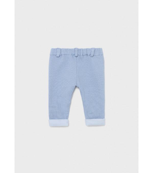 Pantaloni lungi plus nou-nascut baiat 2518 MY-PL07Y