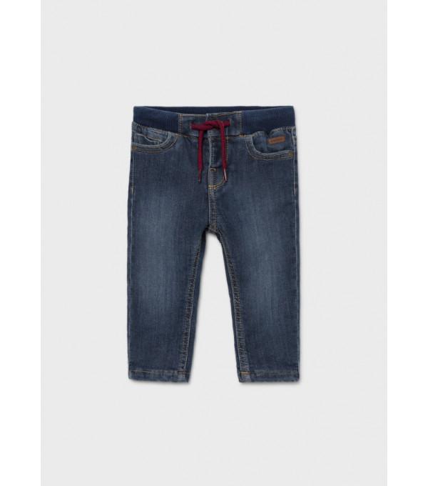 Pantaloni lungi ECOFRIENDS denim regular bebe baiat 2529 MY-BG08Y