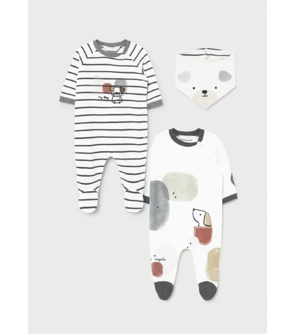 Costumas nou-nascut baiat de la 0 la 18 luni 2686 MY-SET28Y