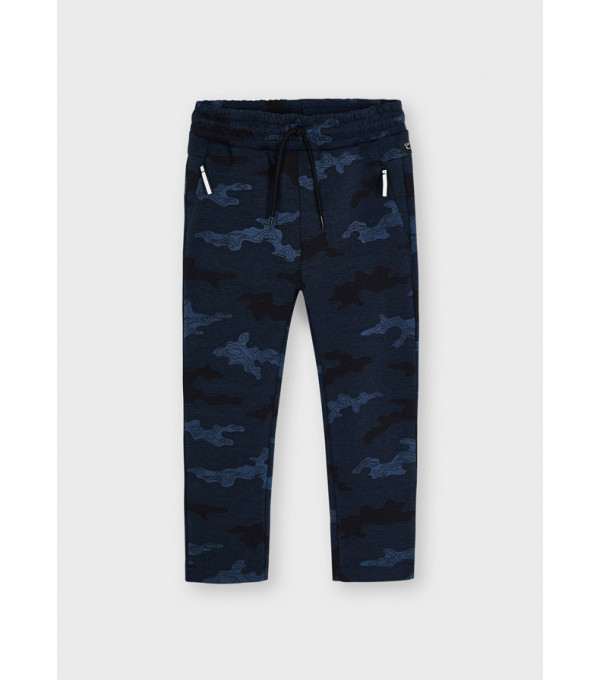 Pantaloni lungi imprimeu baiat 4570 MY-PL09Y