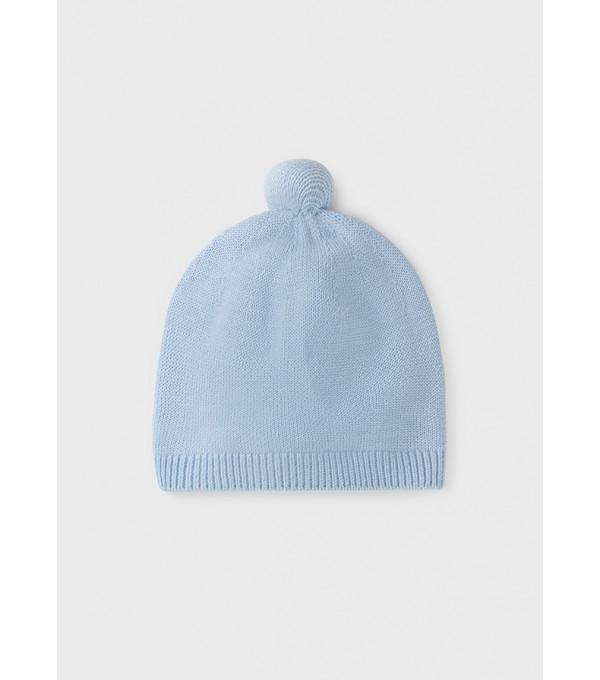 Caciula ECOFRIENDS tricot nou-nascut baiat 9438 MY-CACIULA13Y