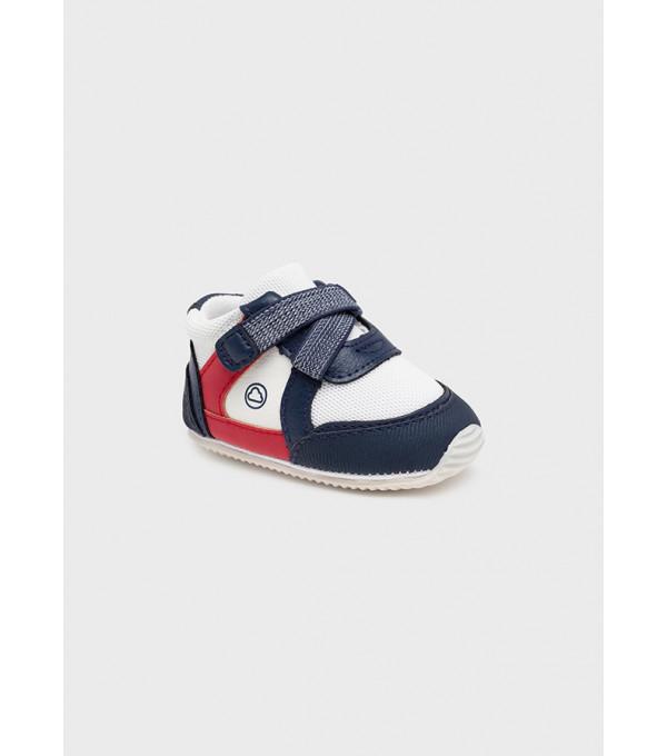 Pantofi sport multicolori nou-nascut baiat 9449 MY-TEN02Y