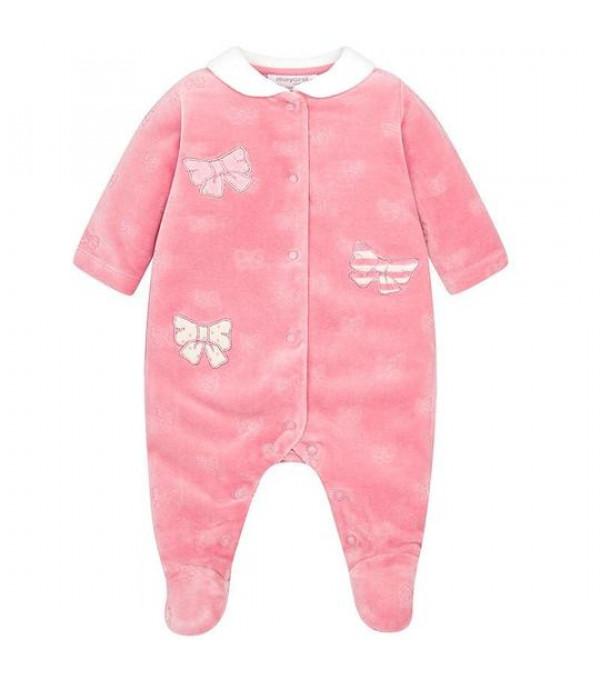 Pijama catifea roz Mayoral My-pija06a