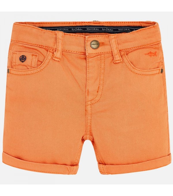 Pantaloni scurti portocalii Mayoral MY-PS35W