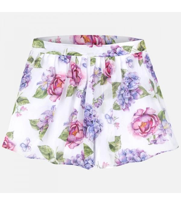 Pantaloni scurti inflorati Mayoral MY-PS55W
