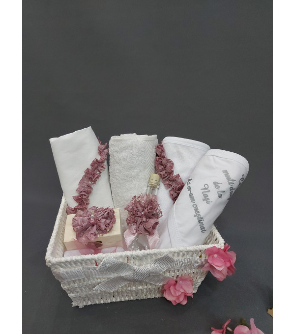 Trusou broderie dantela lila DM-TRUSOU01X