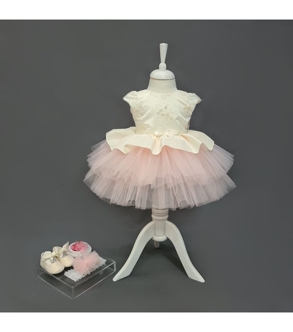 Rochie botez roze SP-R06X