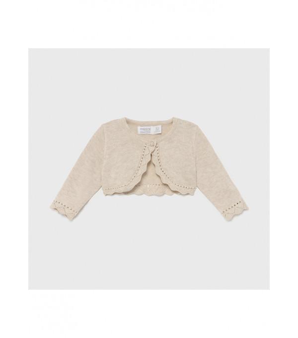 Cardigan tricot basic Ecofriends new born fata 00318 MY-BO01X