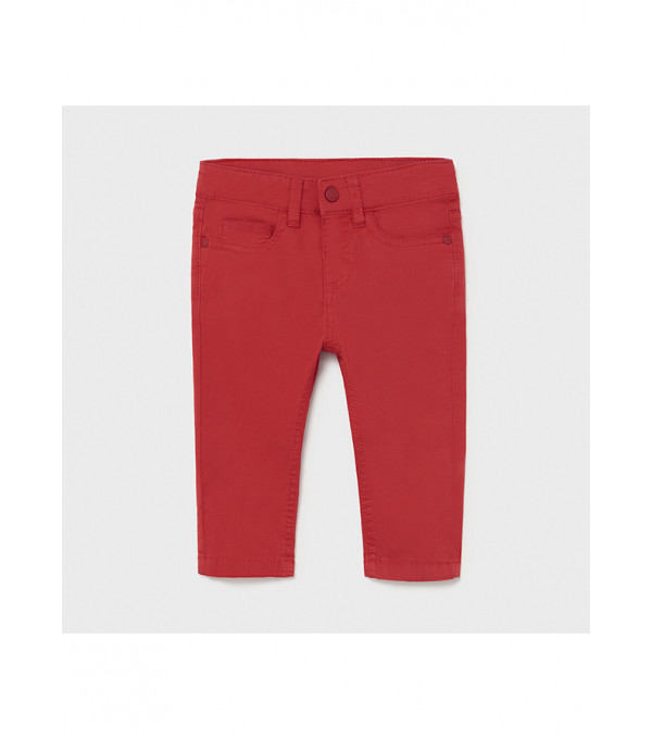Pantaloni lungi sarga basic slim fit bebe baiat 00506 MY-PL18X