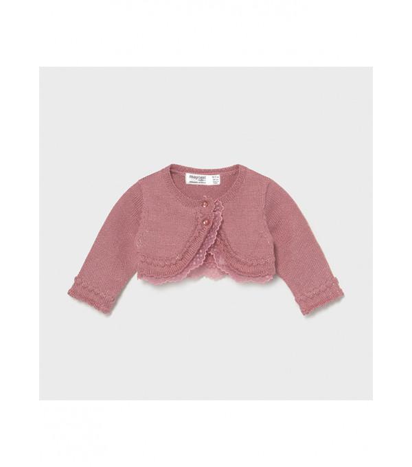 Cardigan tricot ceremonie new born fata 1331 MY-BO05X