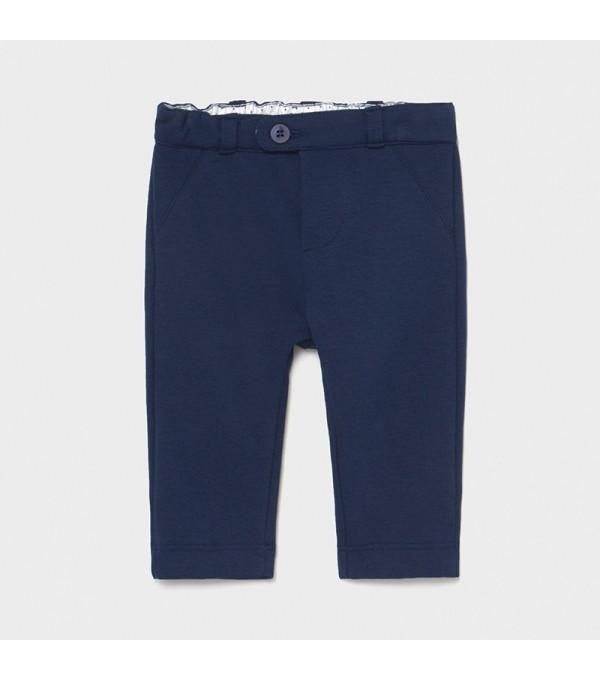Pantaloni lungi bleumarin nou-nascut baiat 01570 MY-PL08X