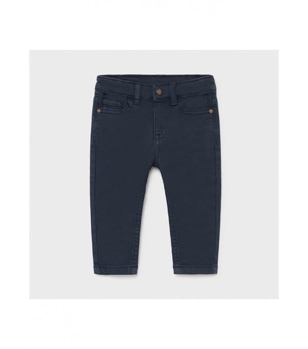 Pantaloni sarga tip denim bebe baiat 1579 MY-PL40X