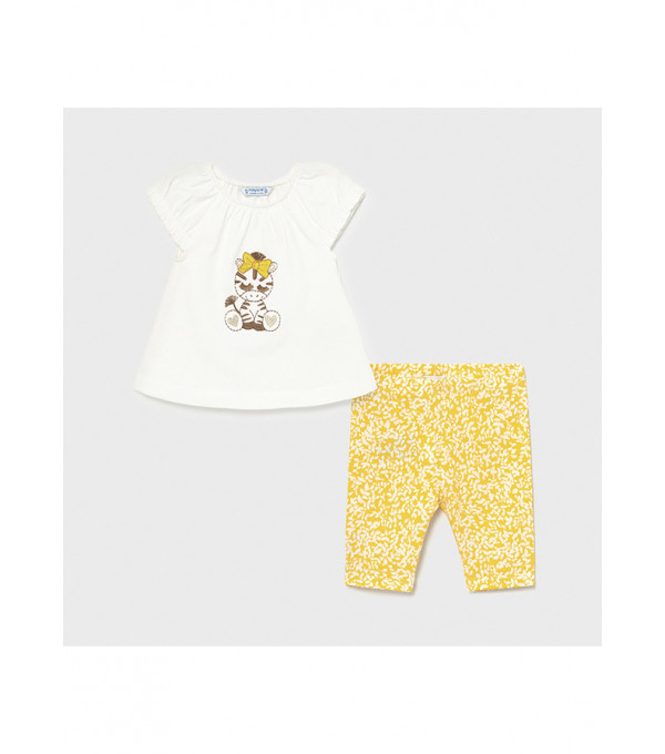 Set leggings denim bebe fetita 1709 MY-SET34X