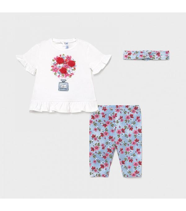 Set leggings efect denim bebe fetita 01713 MY-CS04X