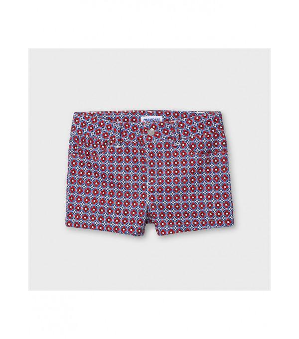 Pantaloni scurti sarga imprimeu fetita 3209 MY-PS16X