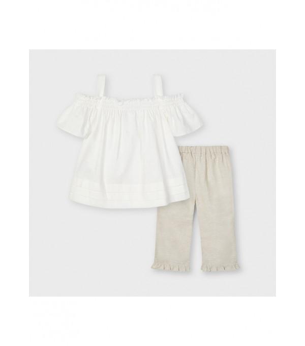 Set pantaloni lungi in fetita 3561 MY-CS46X