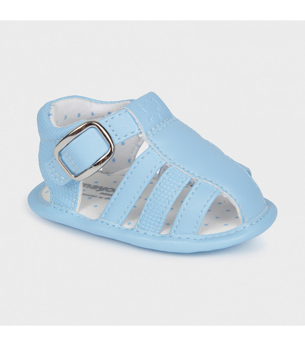 Sandale bleu piele ecologica nou-nascut baiat 9396 MAYORAL MY-SAND05X