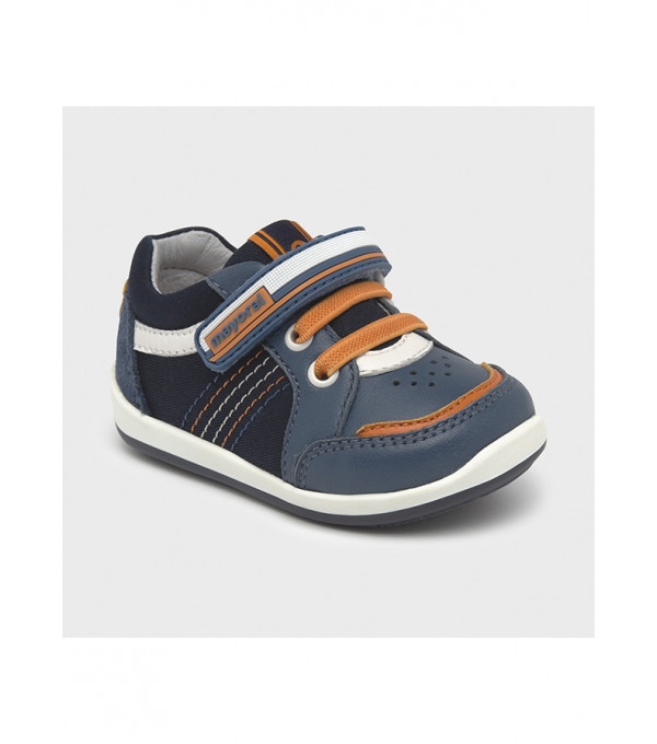 Pantofi sport primii pasi multicolori bebe baiat 41278 MY-TEN12X