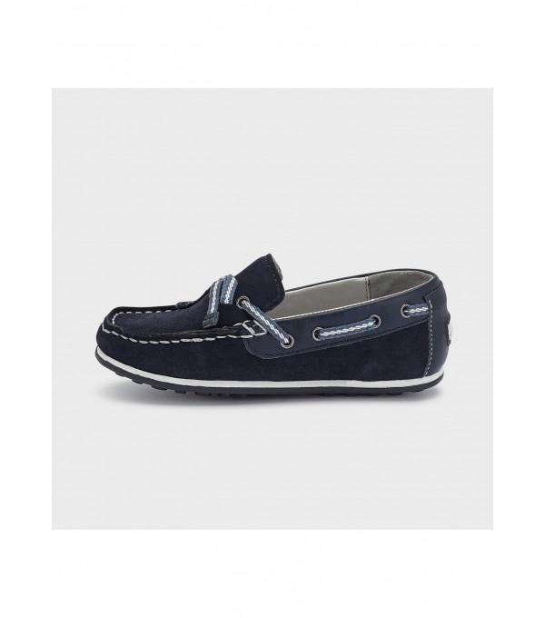 Pantofi pentru bărci cu contrast 45291 MY-PANTF10X