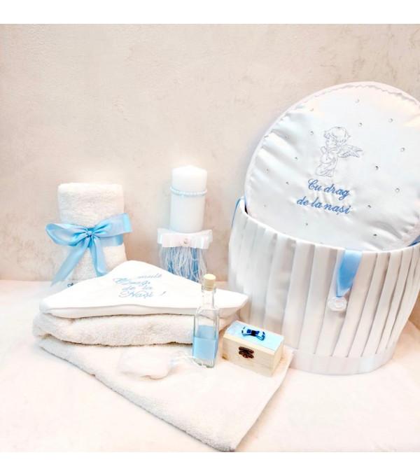 Trusou complet alb-bleu baiat SP-TRUSOU01X