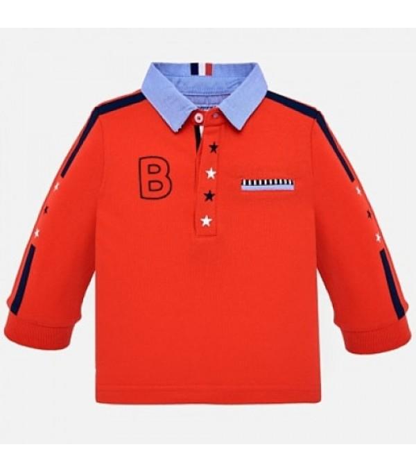 Bluza rosie baieti Mayoral MY-BL04K
