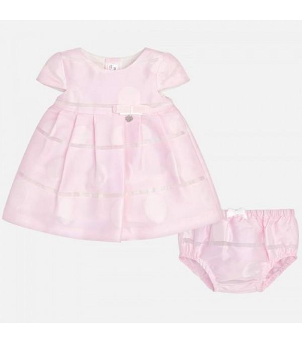 Rochie fetite eleganta roz  Mayoral My-r06k