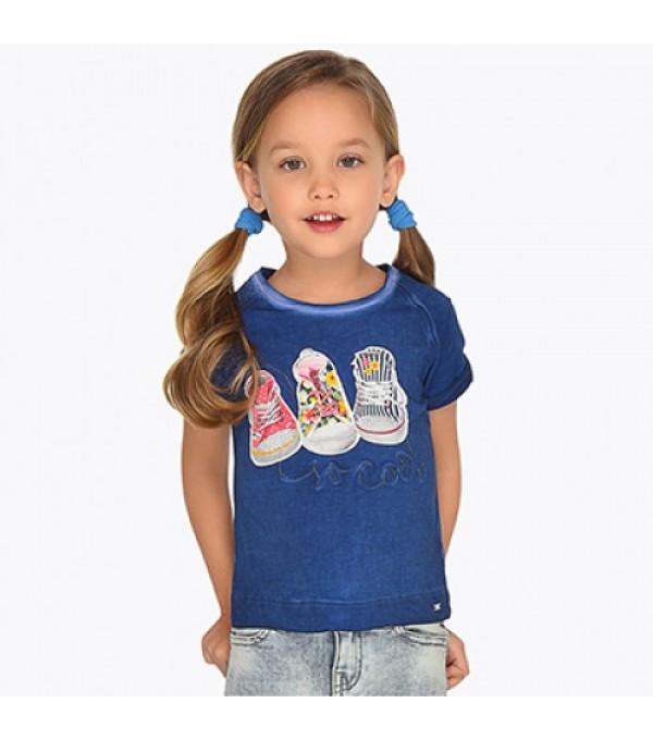 Tricou fete albastru Mayoral My-bl09k