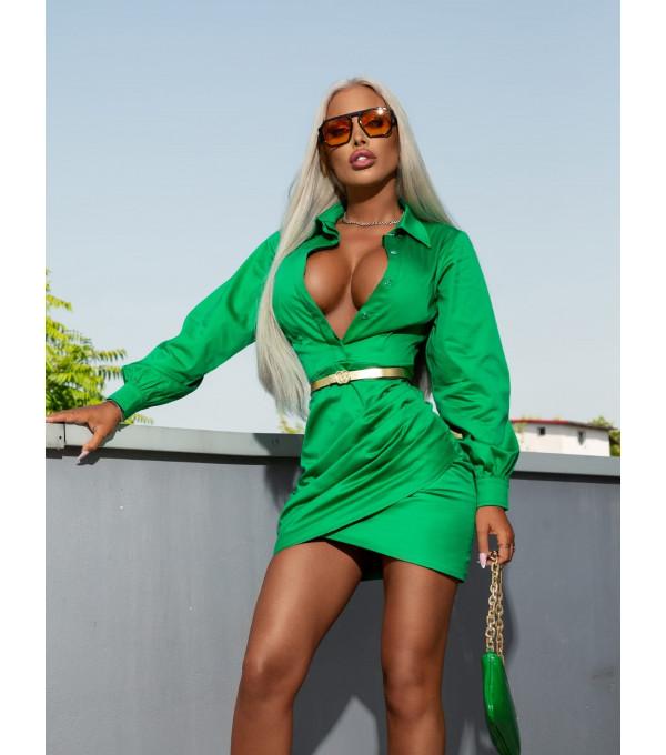 Rochie verde marca Mexton MEXR8770Y