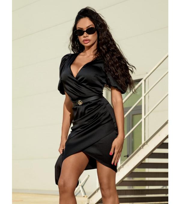 Rochie neagra Mexton MEXR8771Y