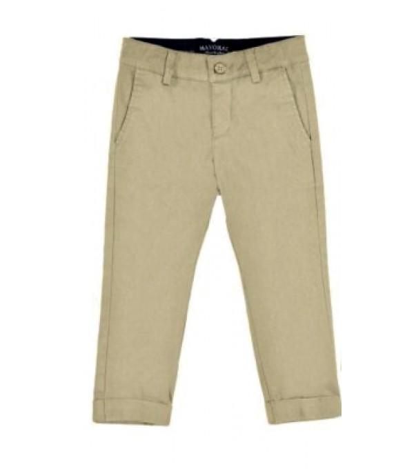 Pantaloni bej Mayoral My-pl401a