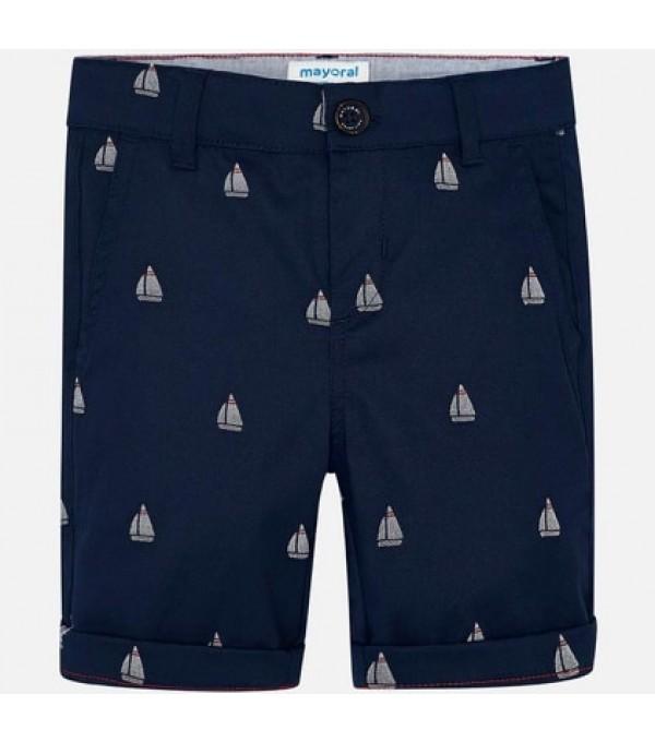 Pantaloni scurti bleumarin MAYORAL My-ps06k