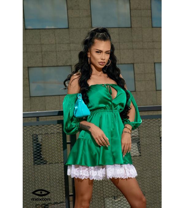 Rochie verde Mexton MEXR8732X