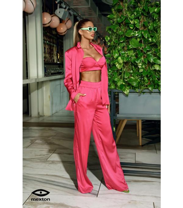 Costum 3 piese roz Mexton MEXCS8747Y