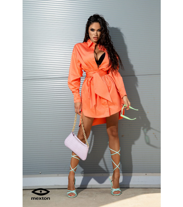 Rochie orange Mexton MEXR8766Y