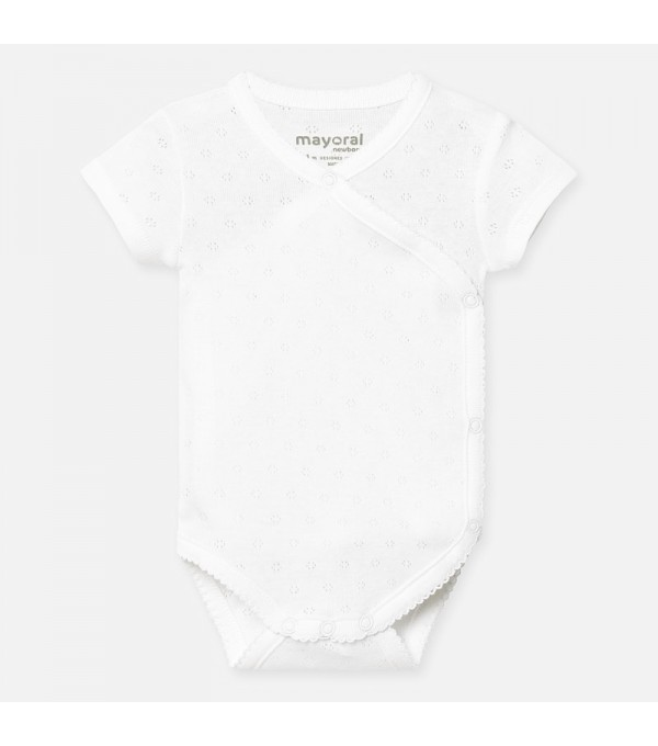 Body maneca scurta basic bebe fetita nou-nascuta Mayoral MY-BD02P